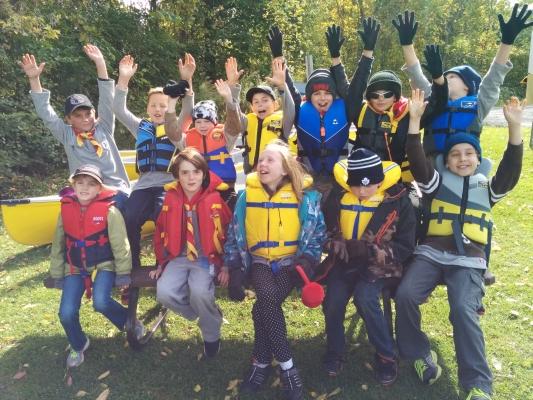 2015 Canoe Camp participants