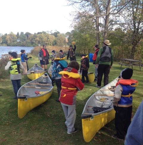 Canoe briefing 2015